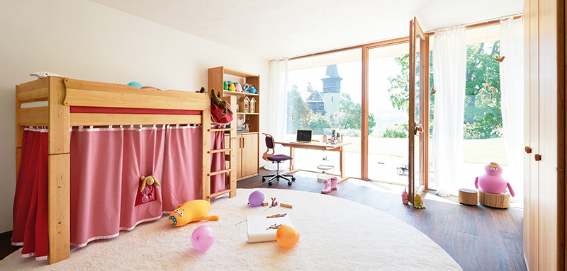 sieben gr nde f r kinderm bel aus holz von team 7 wohnen. Black Bedroom Furniture Sets. Home Design Ideas