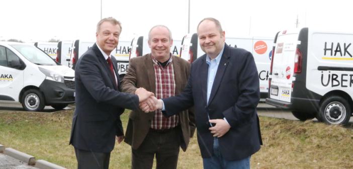 Franz Mahnig (Opel Österreich), Harald Wolf (Autohaus Sulzbacher), Gerhard Hackl (HAKA Küchen)