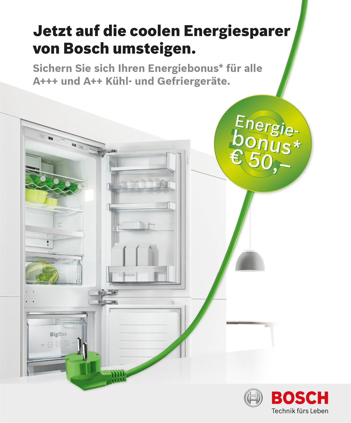 Bosch Energiebonus bis 31.08.2015