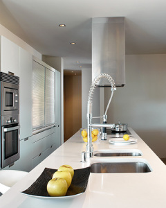 Silestone Blanco Zeus Küche