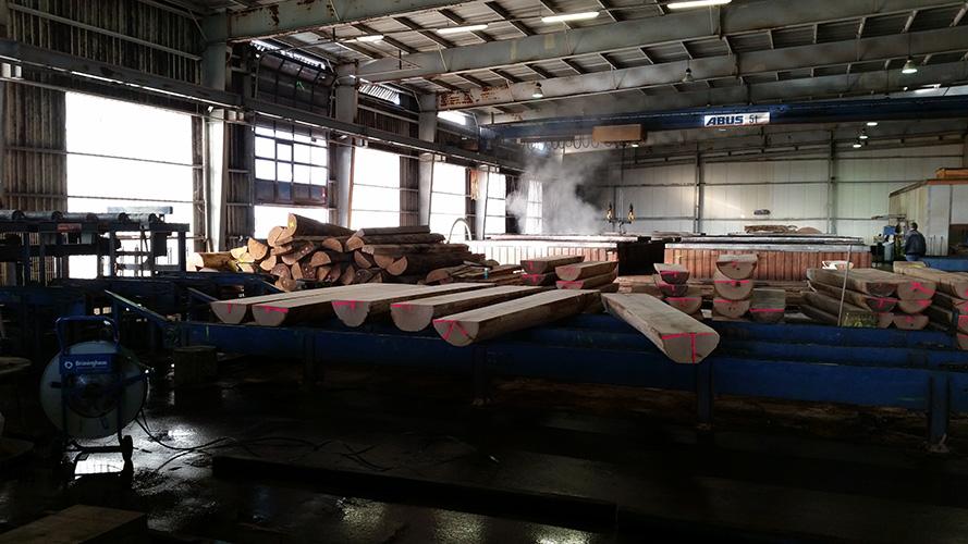 Besuch im Furnierwerk Prignitz