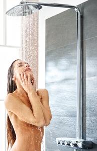 Duschen ist sinnlich