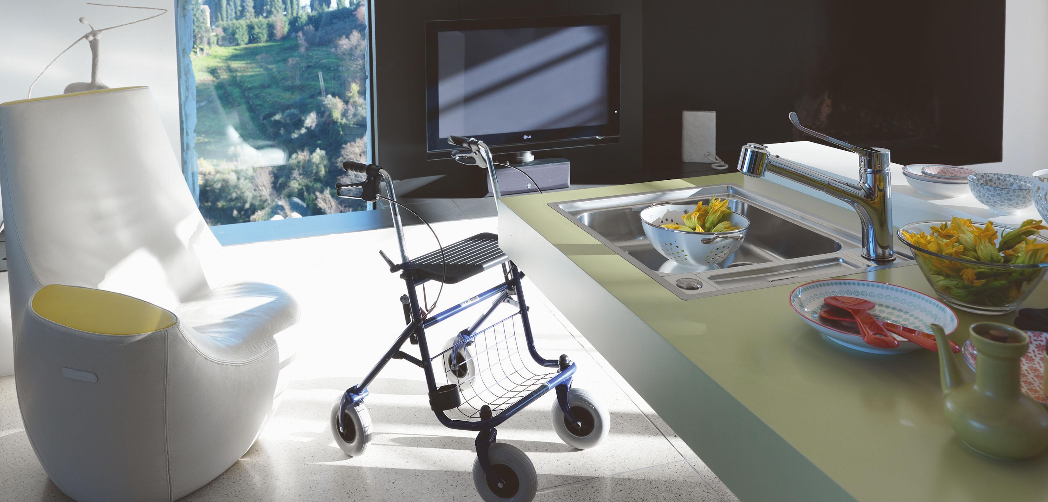 das franke argos care center die barrierefreie sp le kochen essen. Black Bedroom Furniture Sets. Home Design Ideas