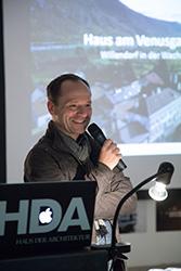 Projektentwickler Volker Dienst von Inprogress Architektur Consulting © Thomas Raggam