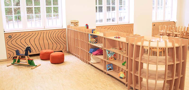 Kindergarten Blümchen © form.bar.