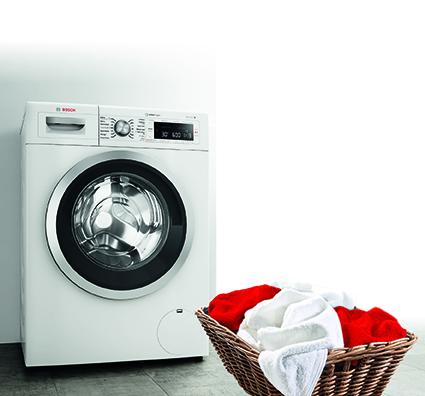 Mehrwertprämie für Waschmaschinen und Trockner © Bosch
