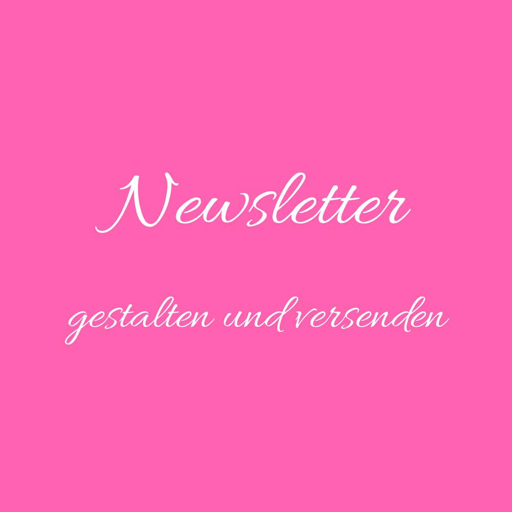 Newsletter gestalten versenden Wohnendaily