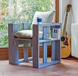 Gemütliche Sitzgelegenheit © Claudia Guther/frechverlag