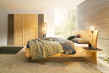Paso aus Zirbenholz für gesunden Schlaf © Anrei