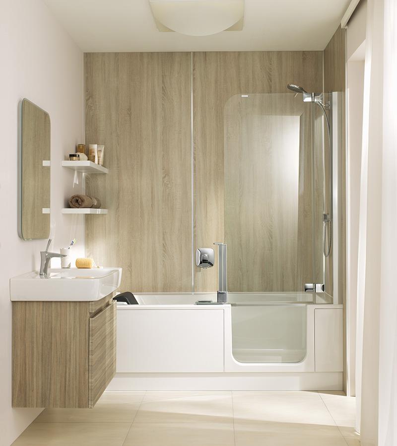 Badewannentür und Duschwand – Twinline 2 © Artweger