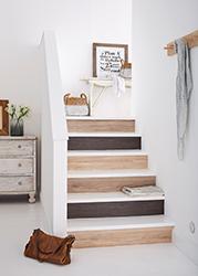 Stufen im Handumdrehen neu © d-c-fix Hornschuch