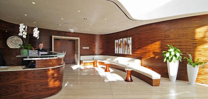 Furnier im Hotel Burj Khalifa in Dubai © IFN/Kohl GmbH
