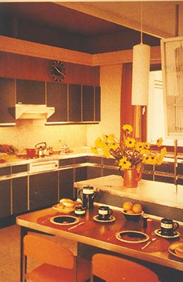 Typische Küche der 1970er Jahre © AMK