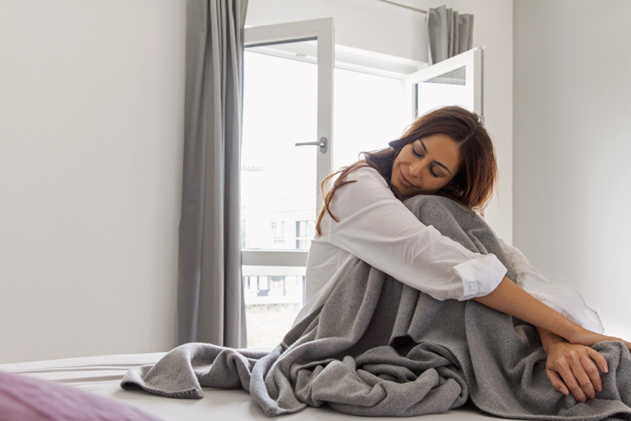 Sobald das Fenster zu ist, kann der Schlaf kommen © VFF/REHAU
