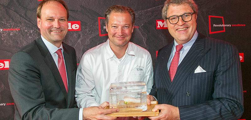 Markus Miele, Andreas Döllerer, Reinhard Zinkann © Miele