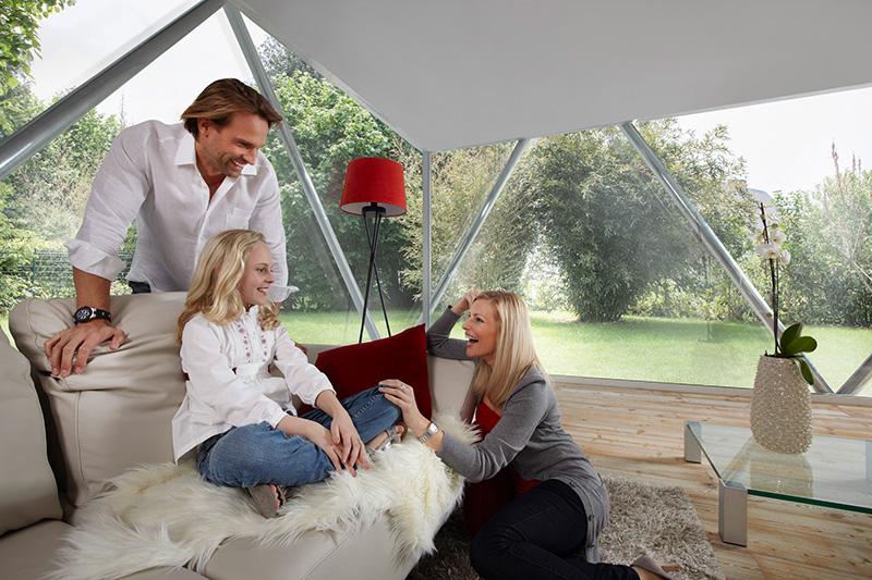 Hohe Wohnqualität dank gesundem Tageslicht © VFF/UNIGLAS GmbH & Co. KG