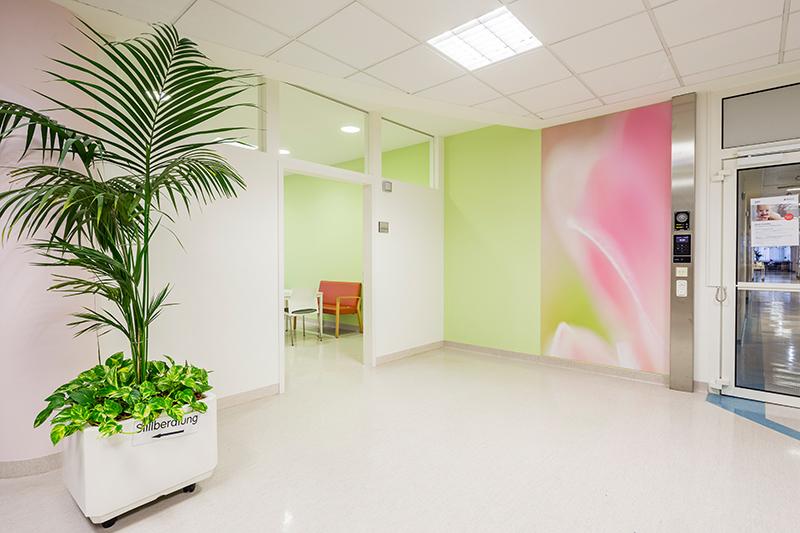 Geburtenabteilung im Klinikum Wels-Grieskirchen © Synthesa