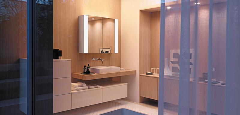 Vom Hygieneraum zur Wohlfühloase © Burgbad/VDM
