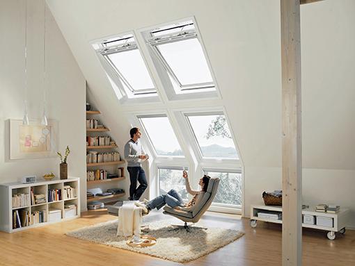 Bodentiefes Dachflächenfenster mit Automation © VFF/VELUX