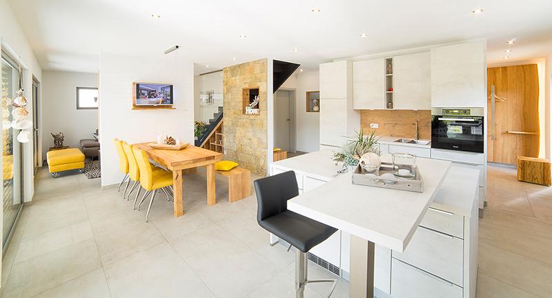 Grundriss und Architektur werden optimal an die eigenen Wünsche angepasst © BDF/FingerHaus