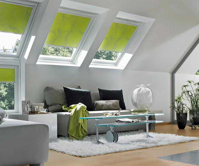 Sonnenschutz für das Dachfenster © VFF/VELUX