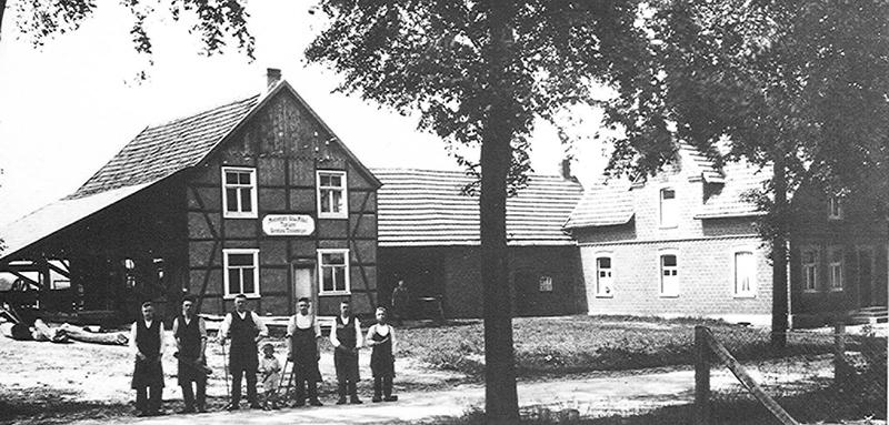 Der Beginn 1922 © Thielemeyer