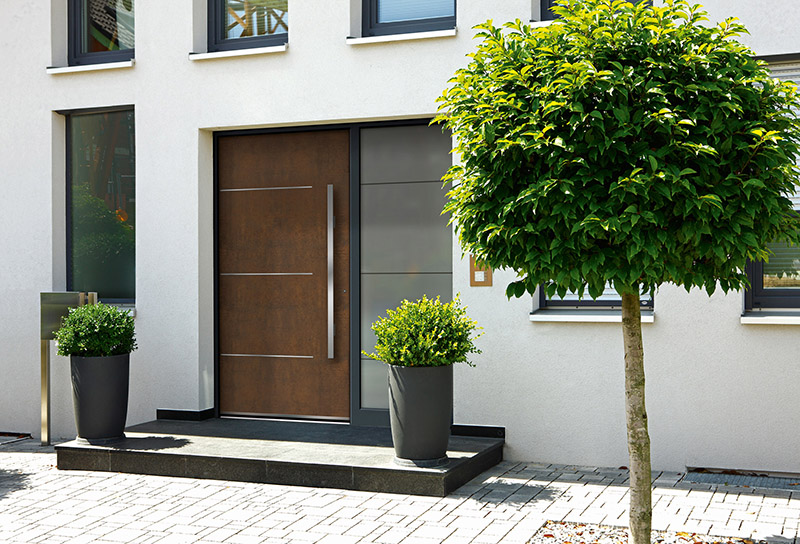 Die Haustüre - edle Visitenkarte des Eigenheims © VFF/RODENBERG Türsysteme